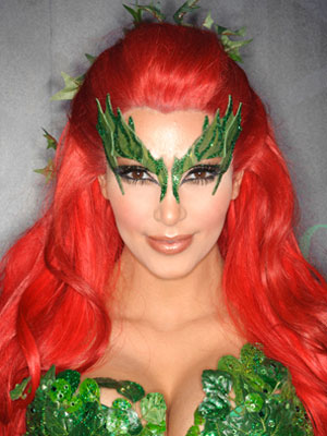 As a long time Poison Ivy fan and recently KK fan I am somewhat impressed at the detail of this costume teamed with Kimu0027s incredible shade of red hair .  sc 1 st  20 SOMETHING - WordPress.com & Halloween Inspiration | 20 SOMETHING